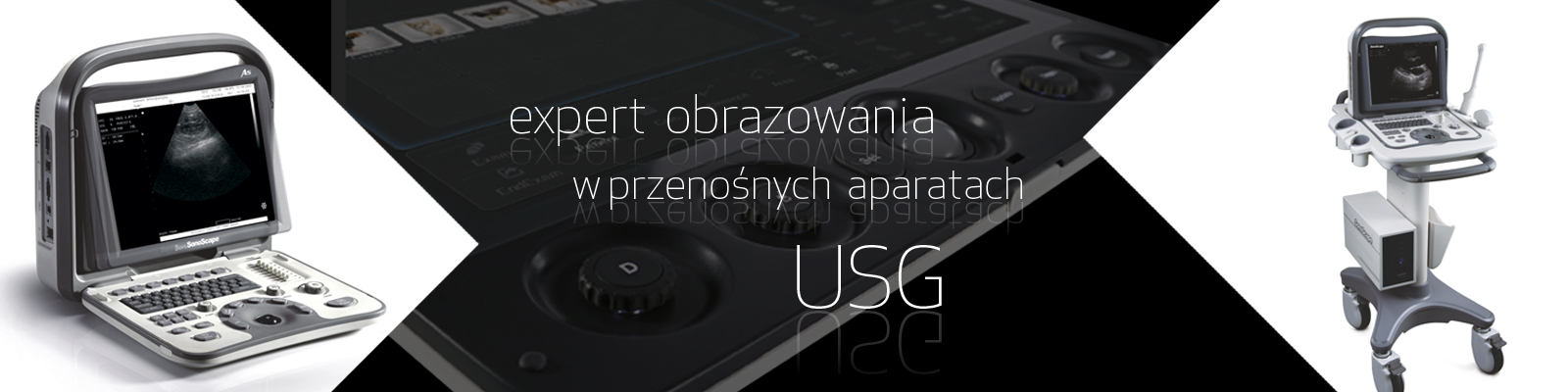 USG przenośne aparaty