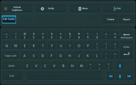 Cyfrowa klawiatura alfabetyczna USG