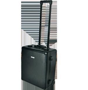 Solidna walizka do USG o stonowanym, luksusowym wyglądzie